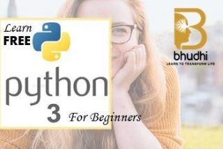 Python3 – For Beginners